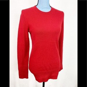 Gap Red Cashmere Sweater red medium Crewneck
